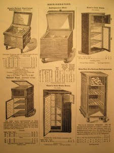 1902 Army and Navy Stores Catalogue Refrigerator Page